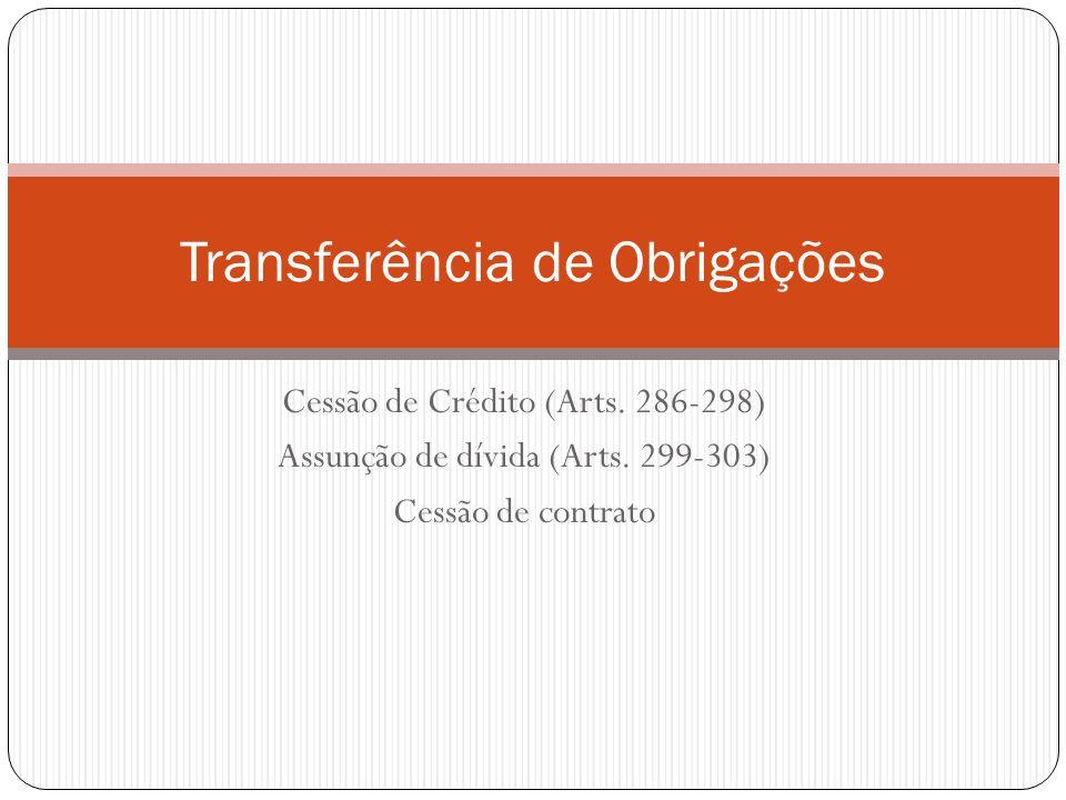 Transferência de Obrigações