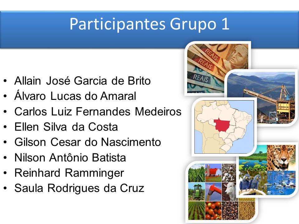 Participantes Grupo 1 Allain José Garcia de Brito