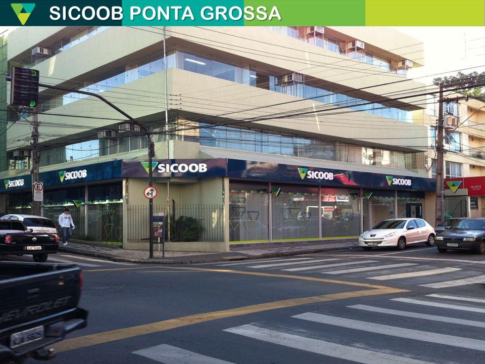 SICOOB PONTA GROSSA Destacar as diferenças entre banco e cooperativas.