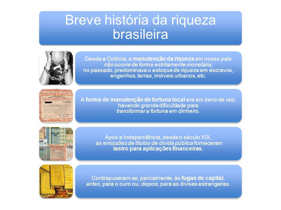 Breve história da riqueza brasileira