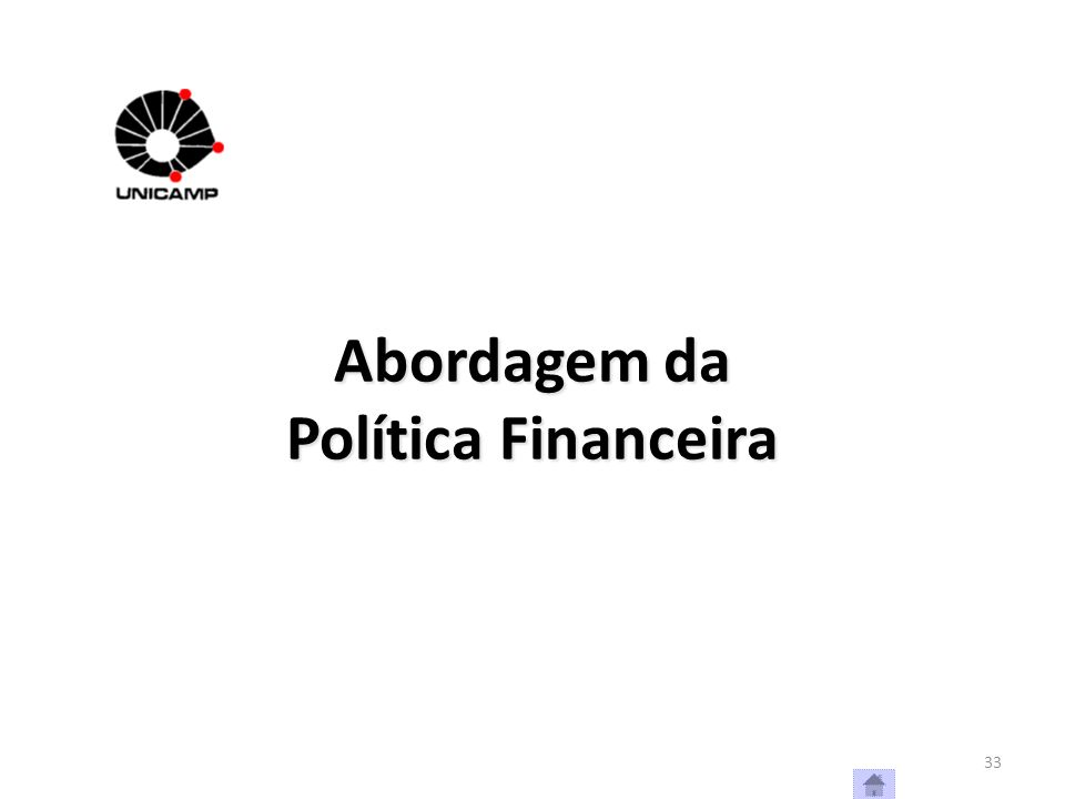 Abordagem da Política Financeira
