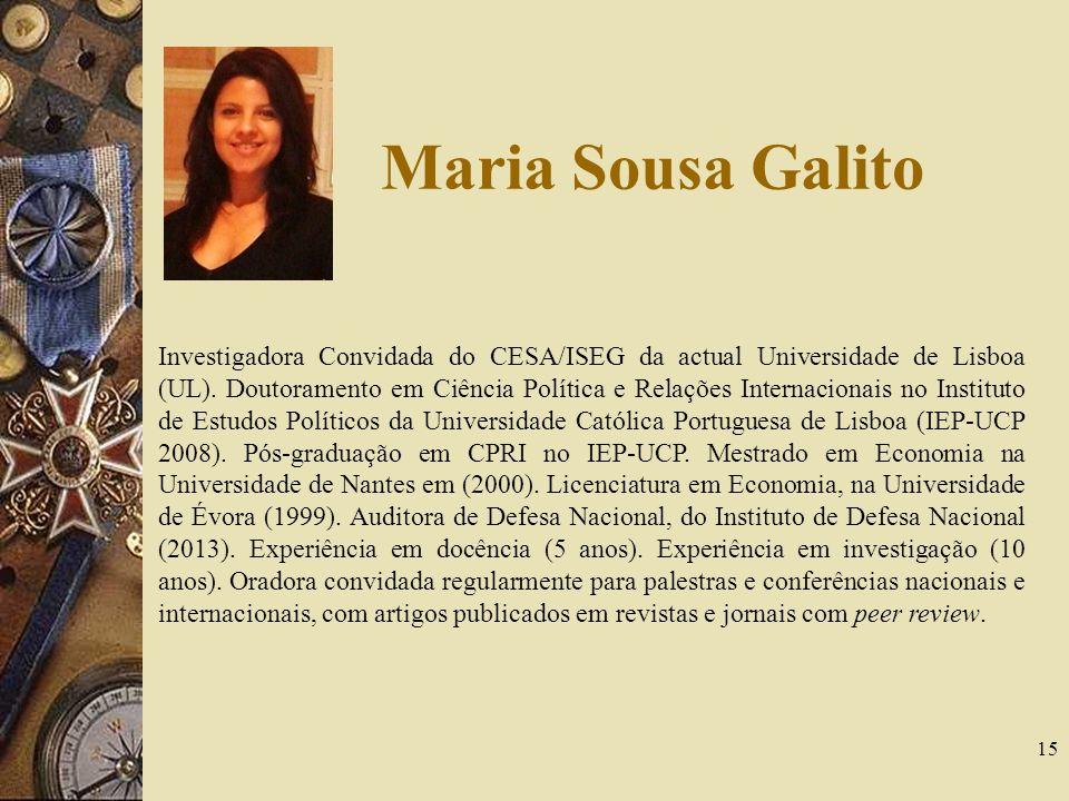 Maria Sousa Galito