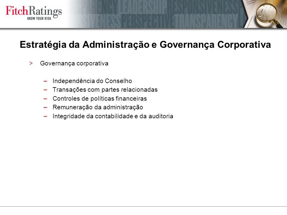 Estratégia da Administração e Governança Corporativa