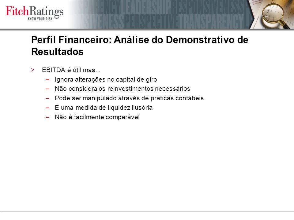Perfil Financeiro: Análise do Demonstrativo de Resultados