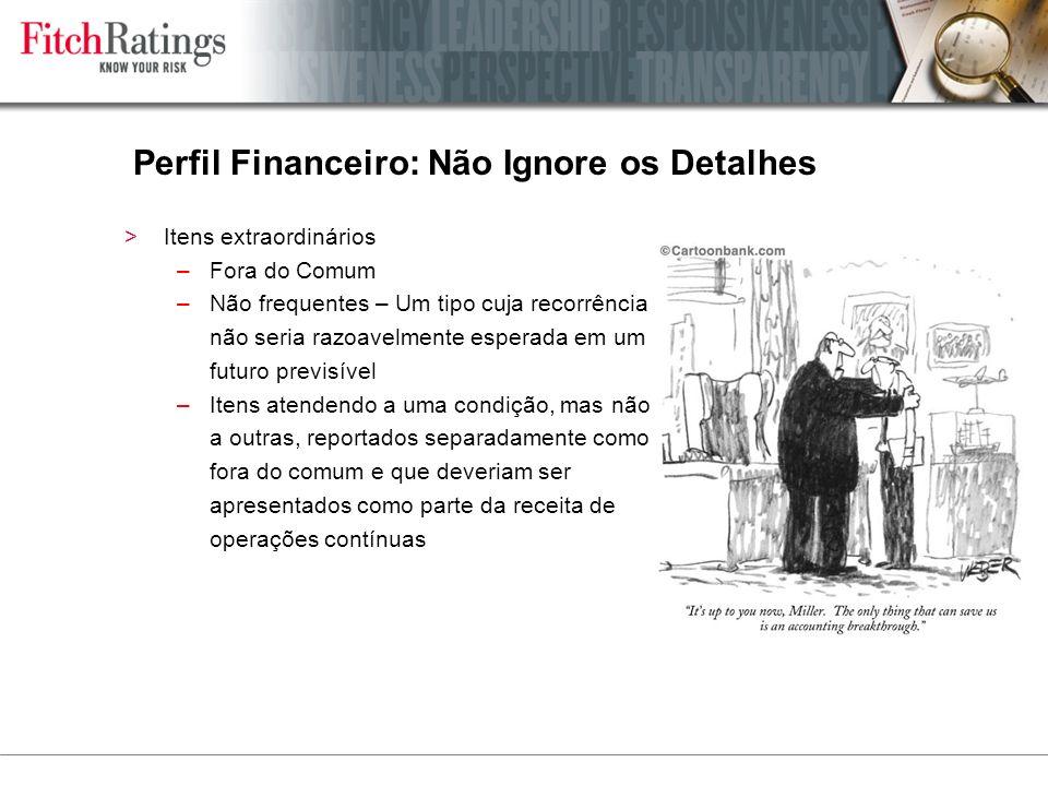 Perfil Financeiro: Não Ignore os Detalhes