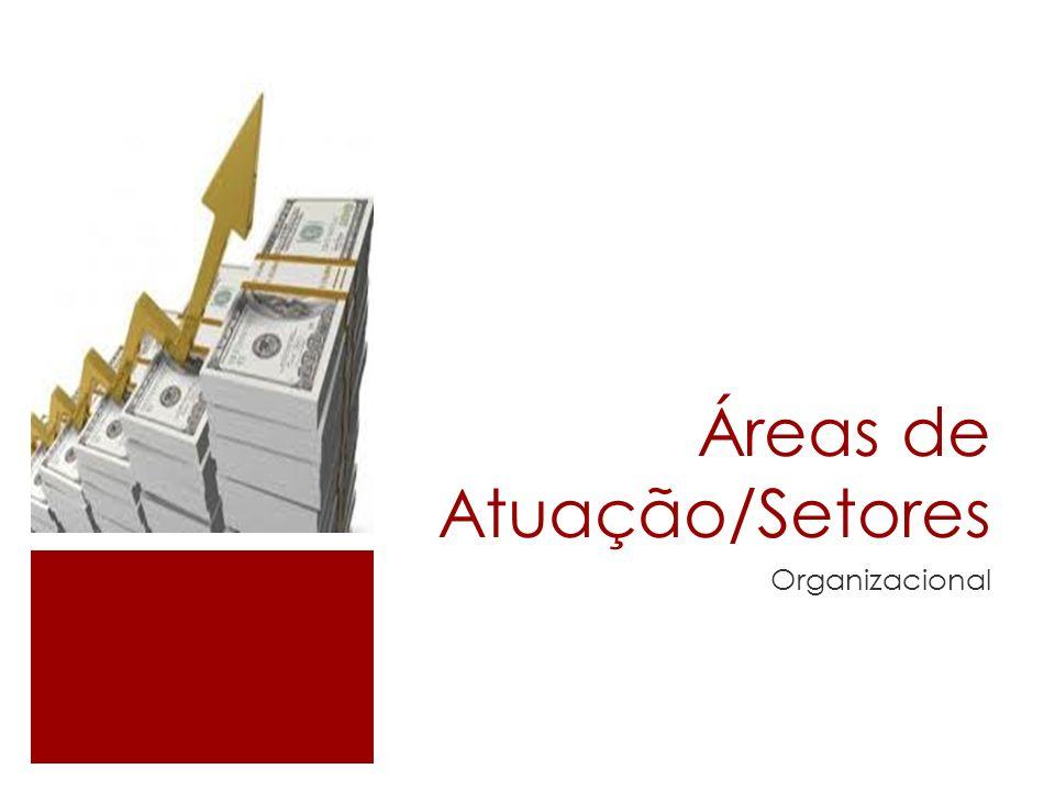 Áreas de Atuação/Setores