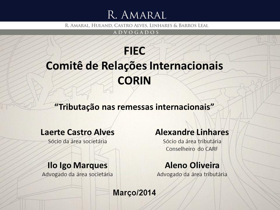 FIEC Comitê de Relações Internacionais CORIN