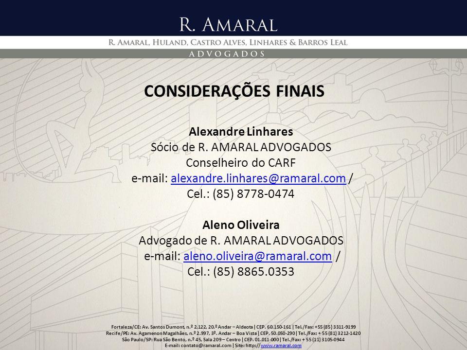 E-mail: contato@ramaral.com ǀ Site: http://www.ramaral.com