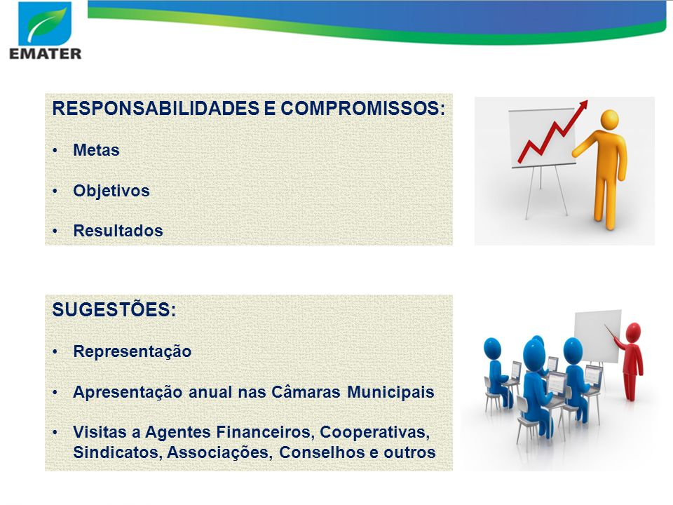 RESPONSABILIDADES E COMPROMISSOS: