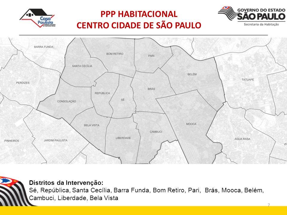 PPP HABITACIONAL CENTRO CIDADE DE SÃO PAULO