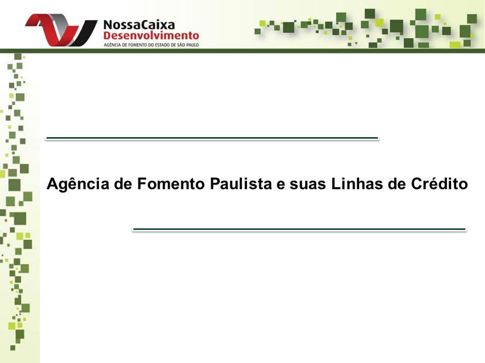 Agência de Fomento Paulista e suas Linhas de Crédito