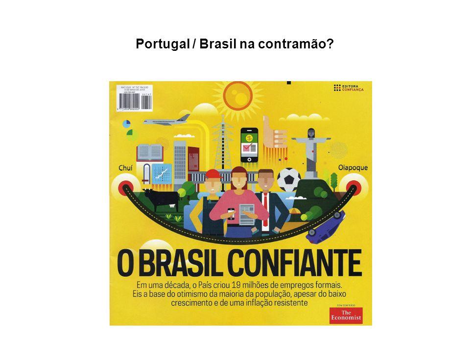 Portugal / Brasil na contramão