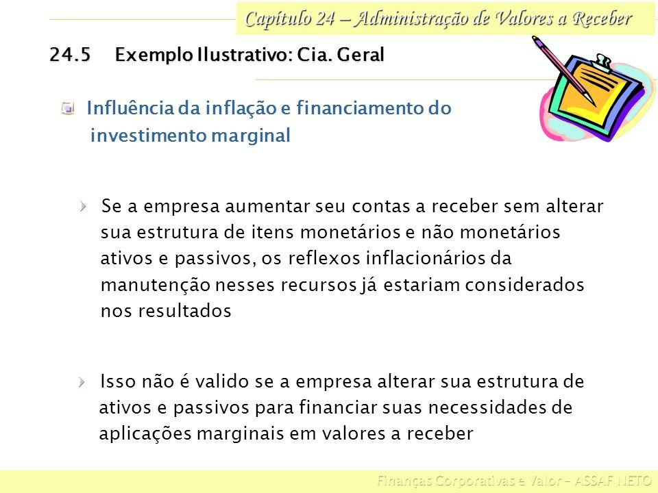 Capítulo 24 – Administração de Valores a Receber