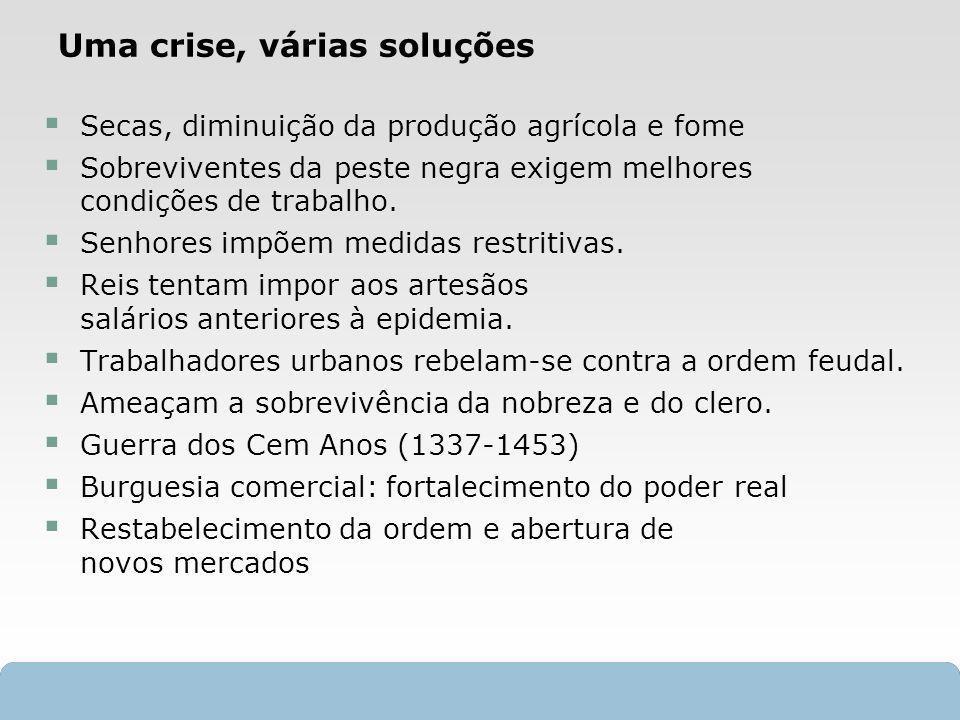 Uma crise, várias soluções