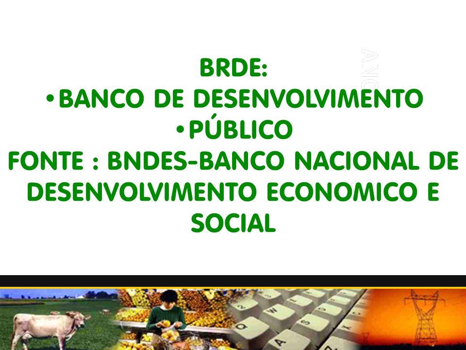 BANCO DE DESENVOLVIMENTO PÚBLICO
