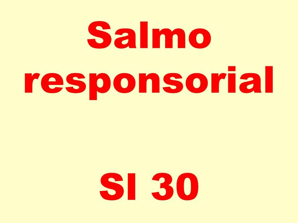Salmo responsorial Sl 30
