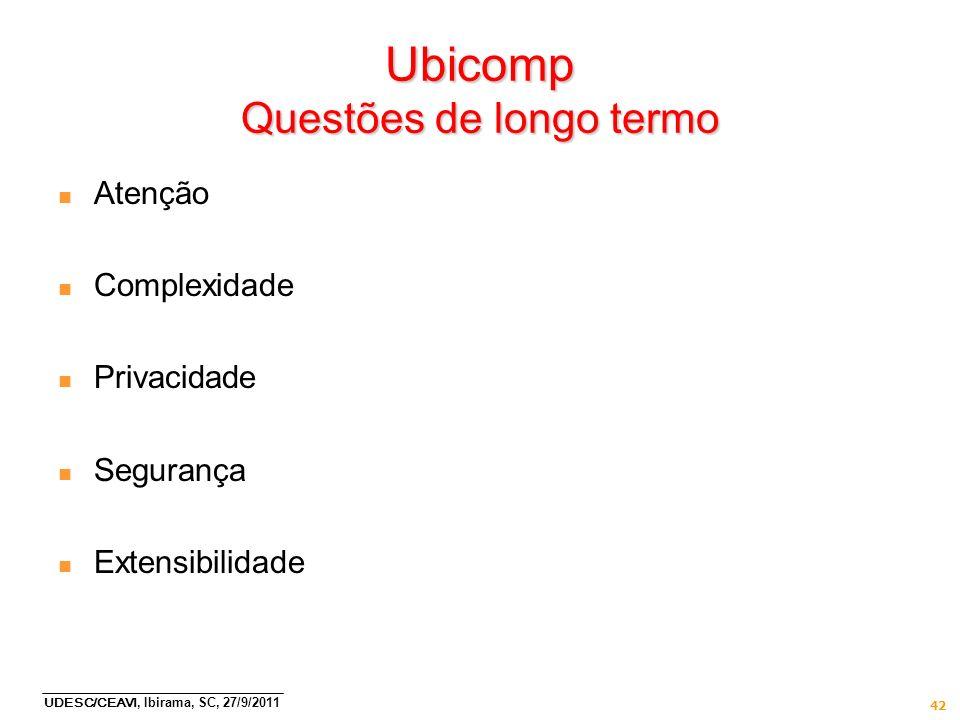 Ubicomp Questões de longo termo
