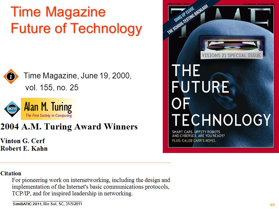Time Magazine Future of Technology