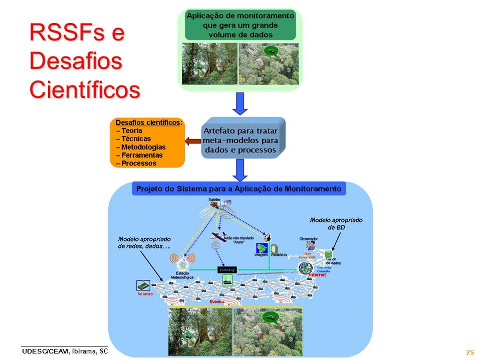 RSSFs e Desafios Científicos