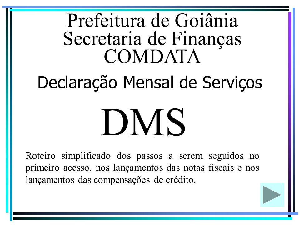 Declaração Mensal de Serviços
