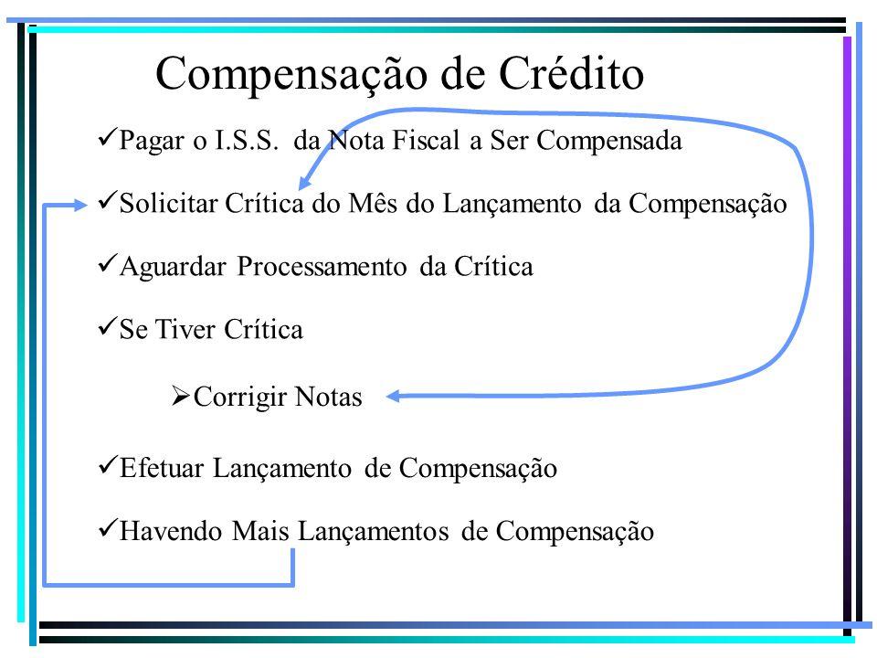 Compensação de Crédito
