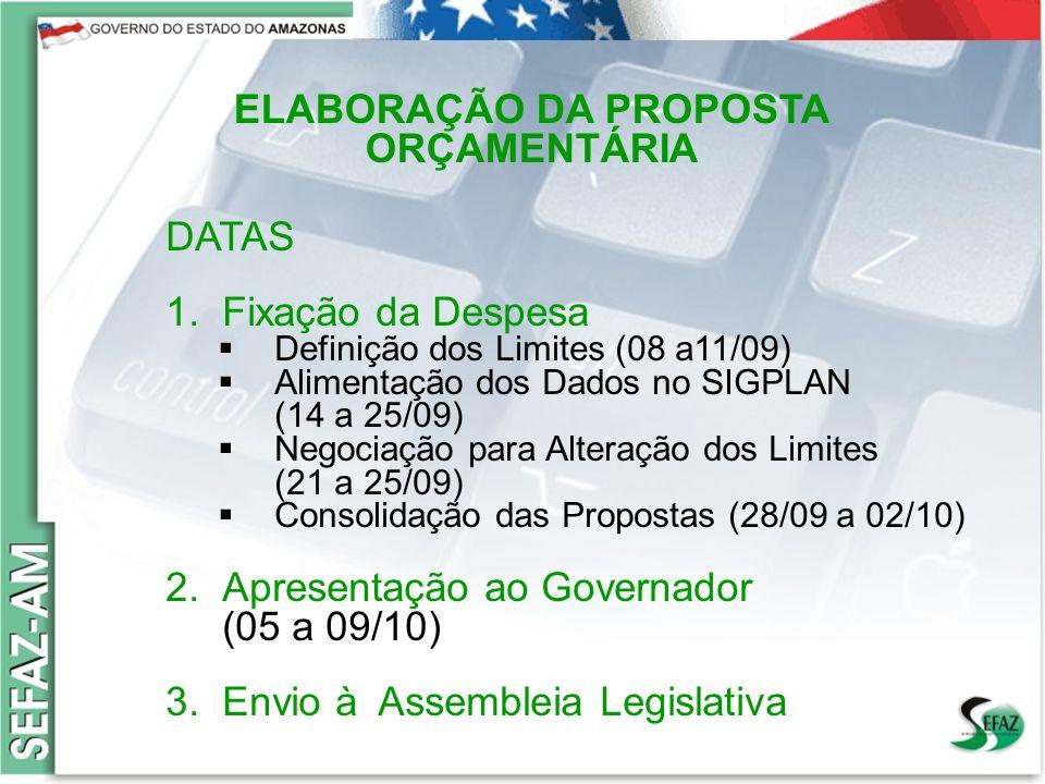 Governo do Estado do Amazonas Secretaria de Estado da Fazenda – SEFAZ