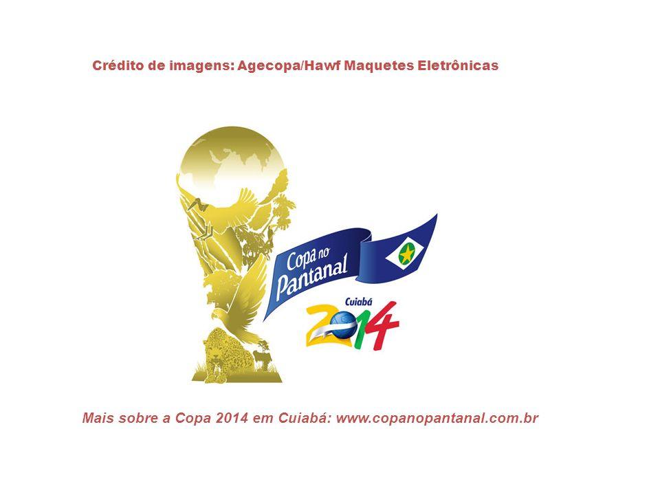 Mais sobre a Copa 2014 em Cuiabá: www.copanopantanal.com.br