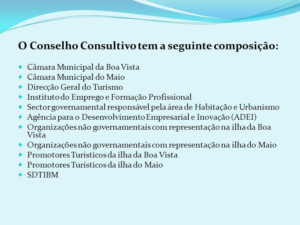 O Conselho Consultivo tem a seguinte composição: