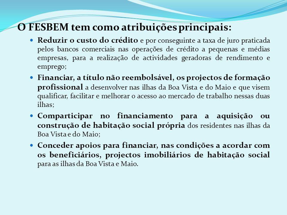 O FESBEM tem como atribuições principais: