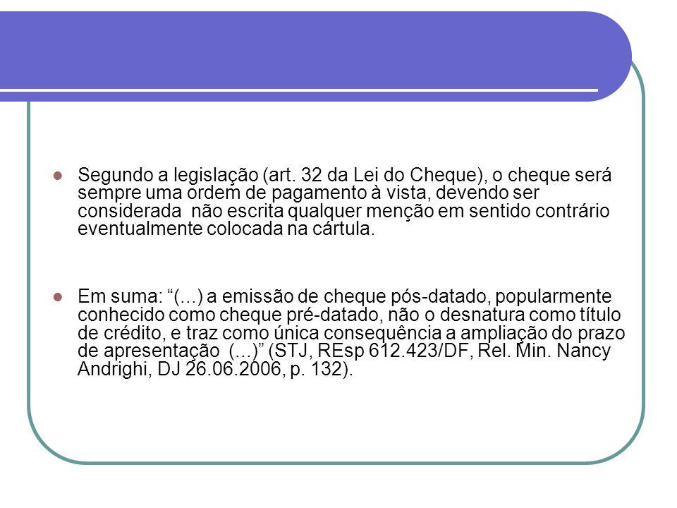Segundo a legislação (art