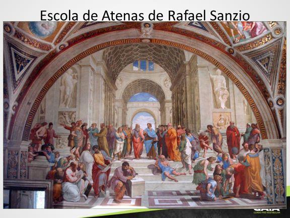 Escola de Atenas de Rafael Sanzio
