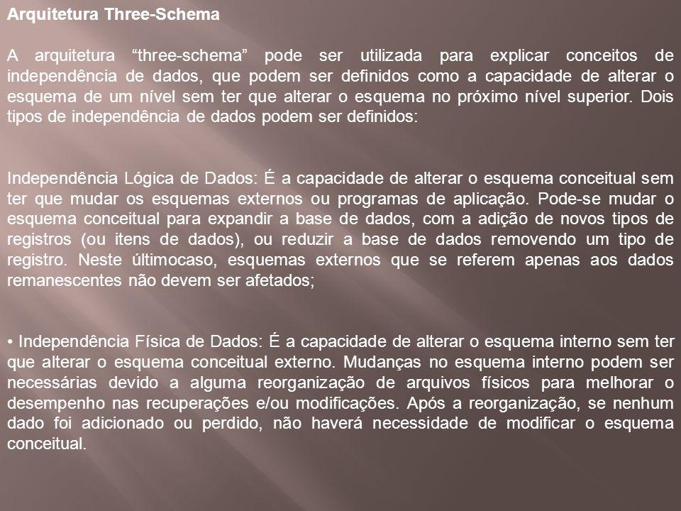 Arquitetura Three-Schema