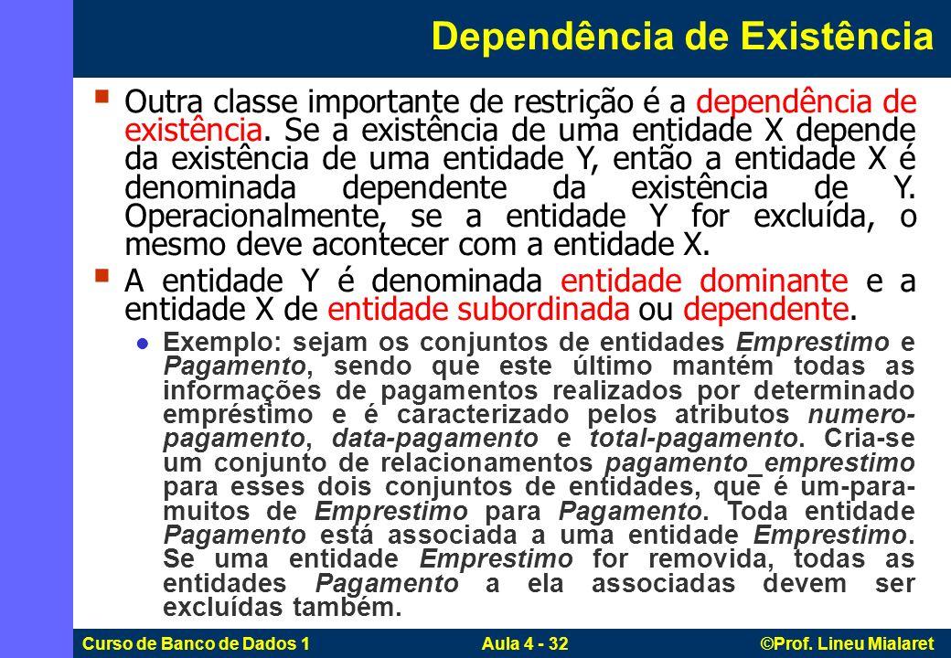 Dependência de Existência