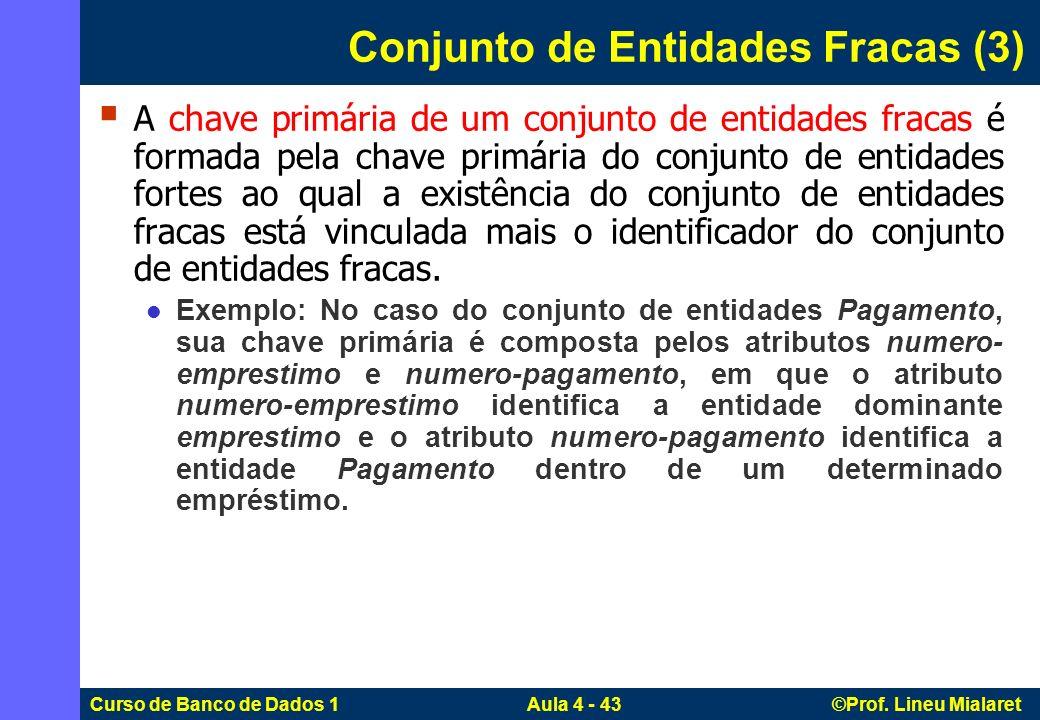 Conjunto de Entidades Fracas (3)