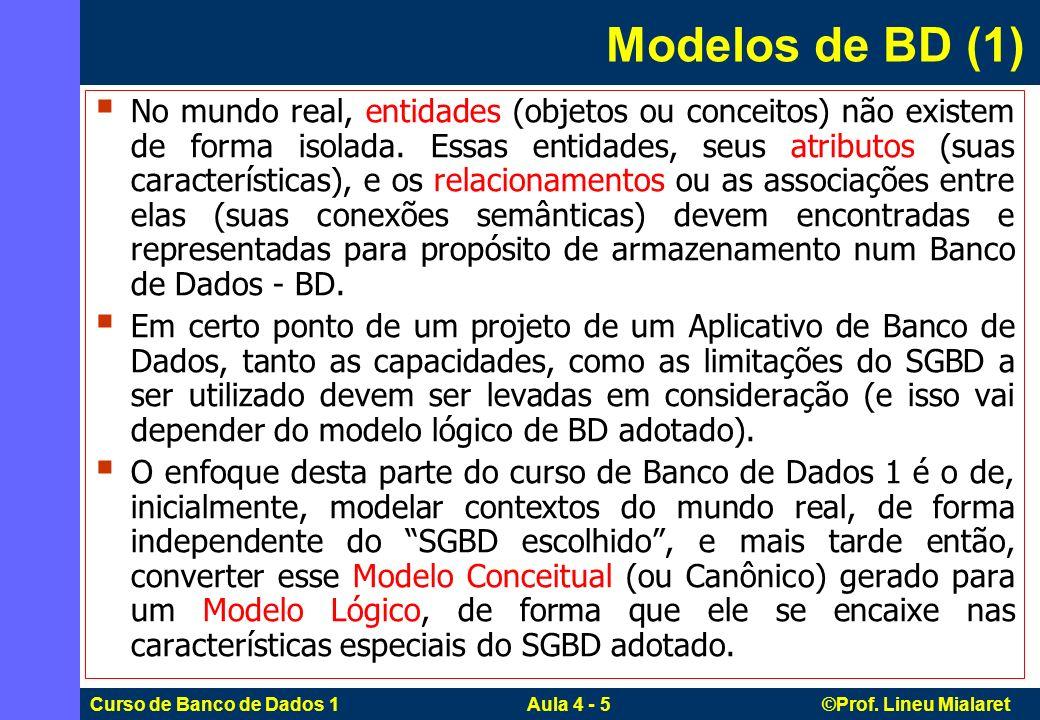 Modelos de BD (1)