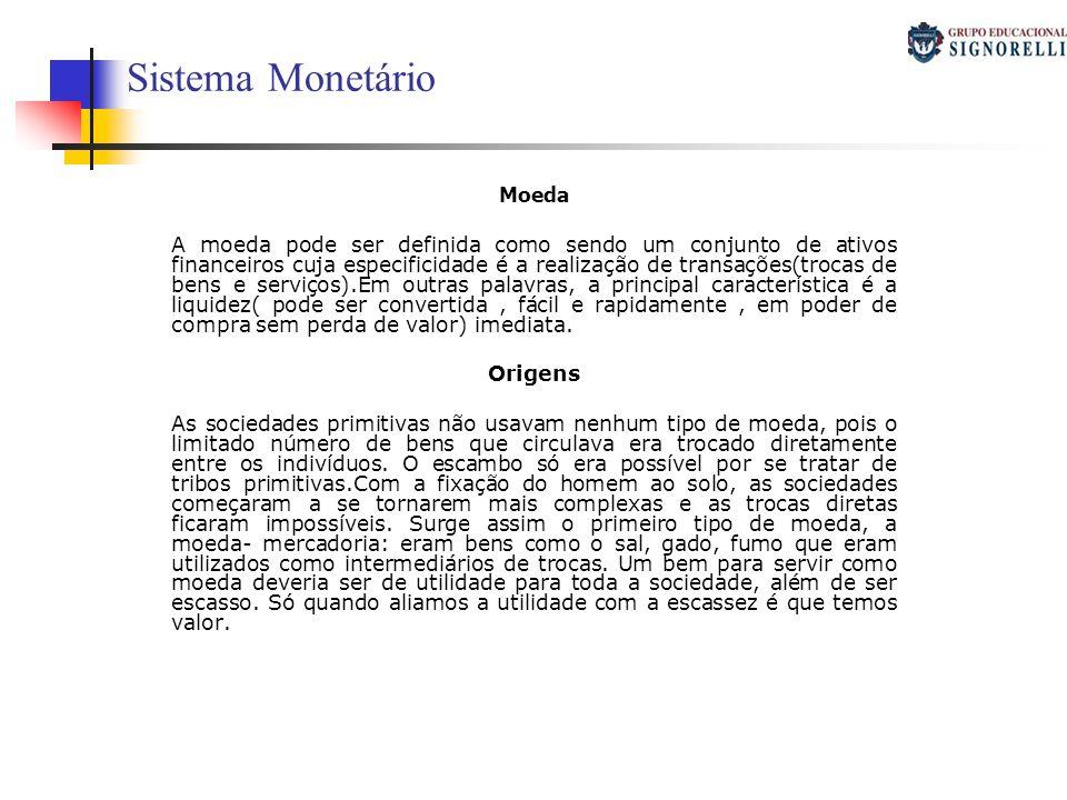 Sistema Monetário Moeda