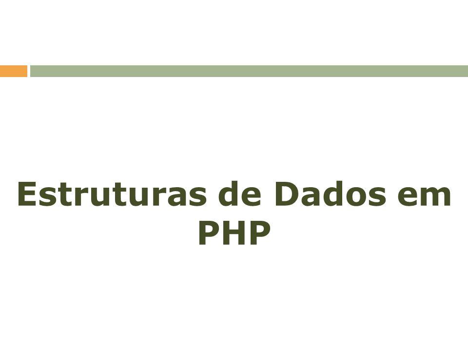 Estruturas de Dados em PHP