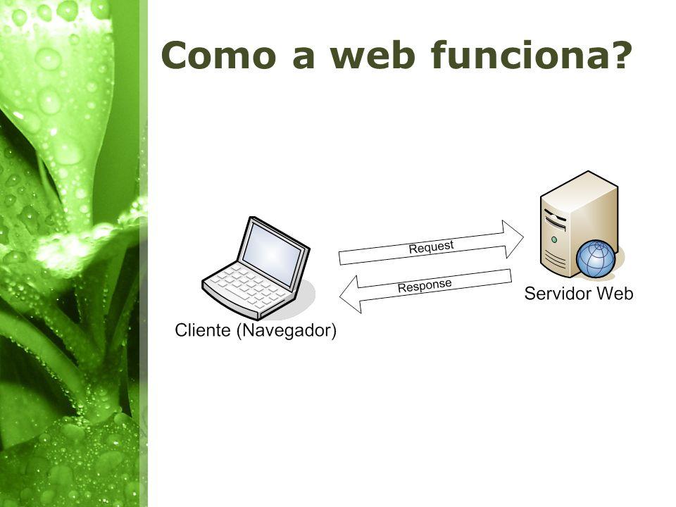 Como a web funciona