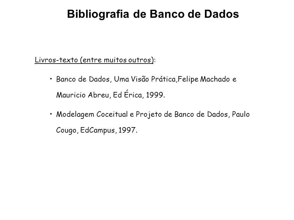 Bibliografia de Banco de Dados