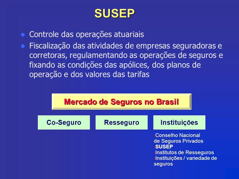 Mercado de Seguros no Brasil