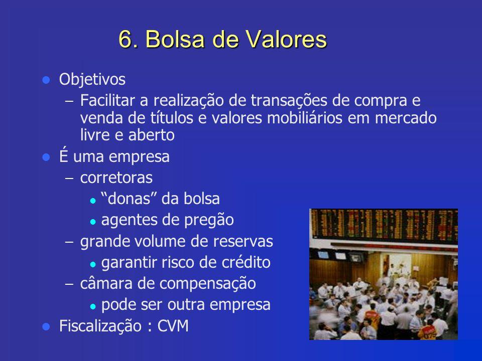 6. Bolsa de Valores Objetivos