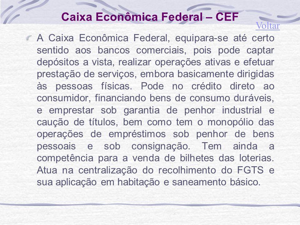 Caixa Econômica Federal – CEF