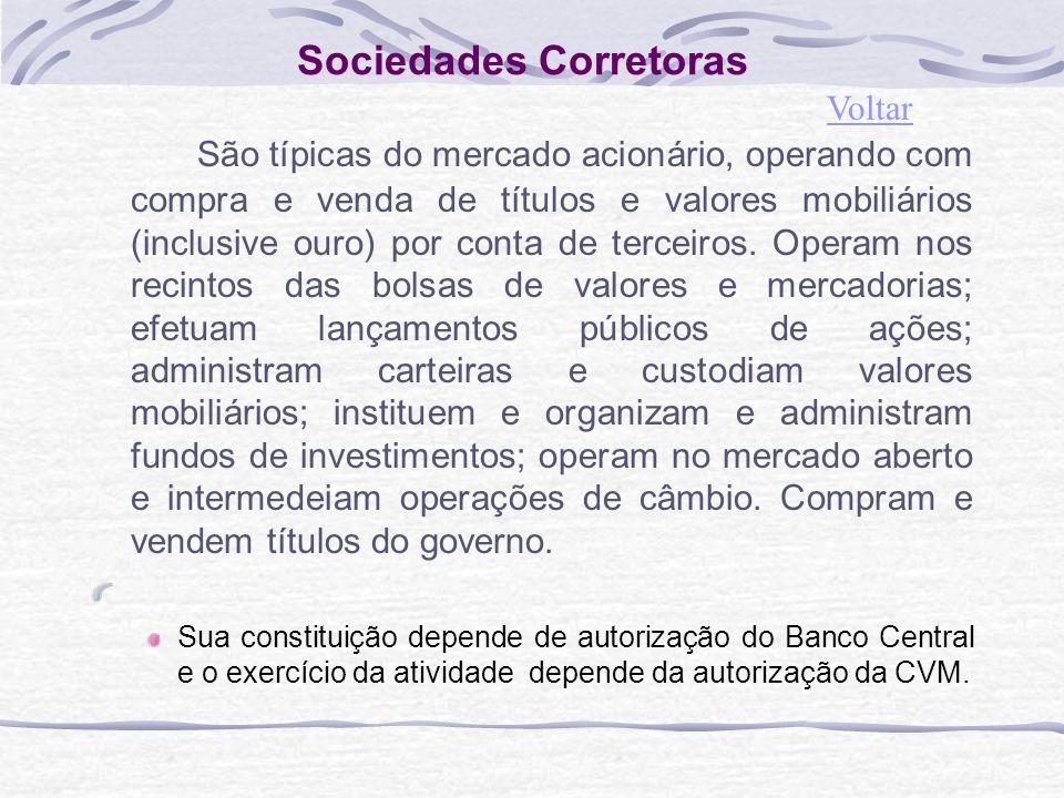 Sociedades Corretoras