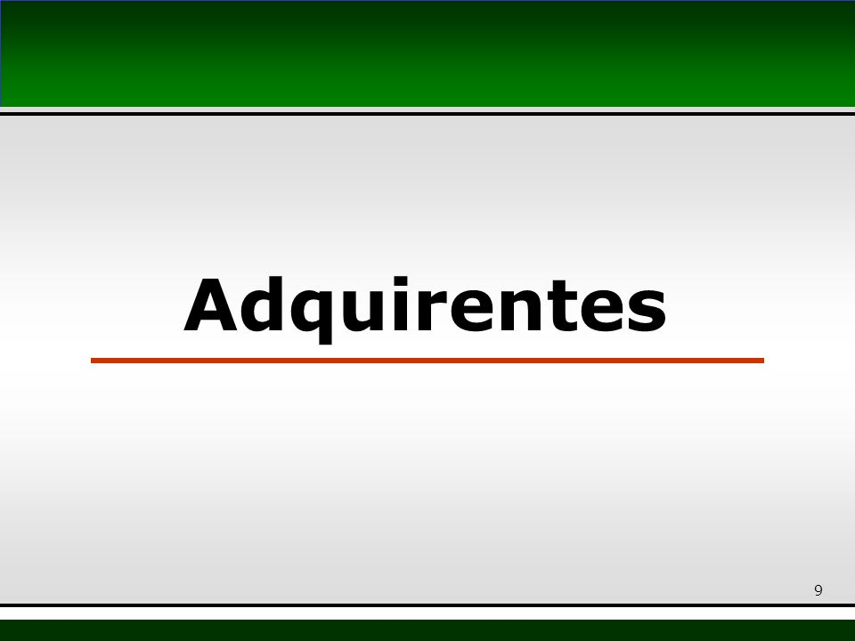Adquirentes