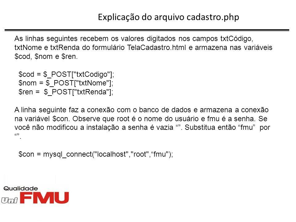 Explicação do arquivo cadastro.php