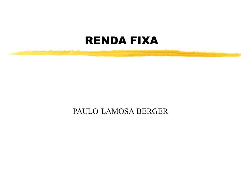 RENDA FIXA PAULO LAMOSA BERGER