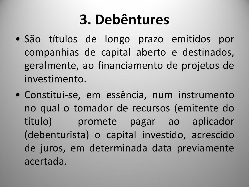 3. Debêntures