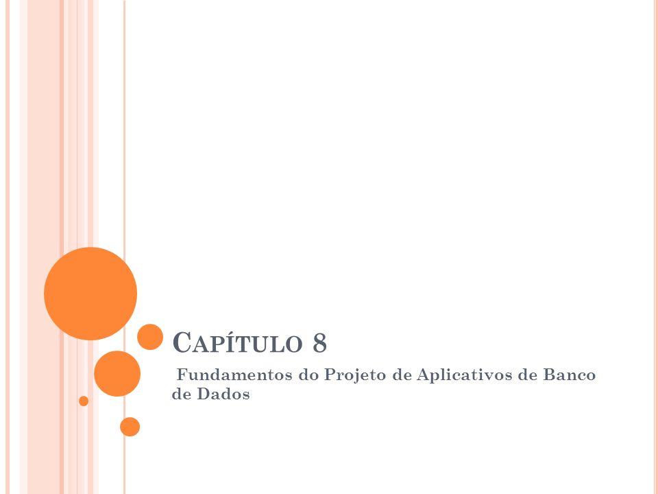 Fundamentos do Projeto de Aplicativos de Banco de Dados