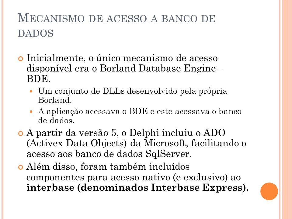 Mecanismo de acesso a banco de dados