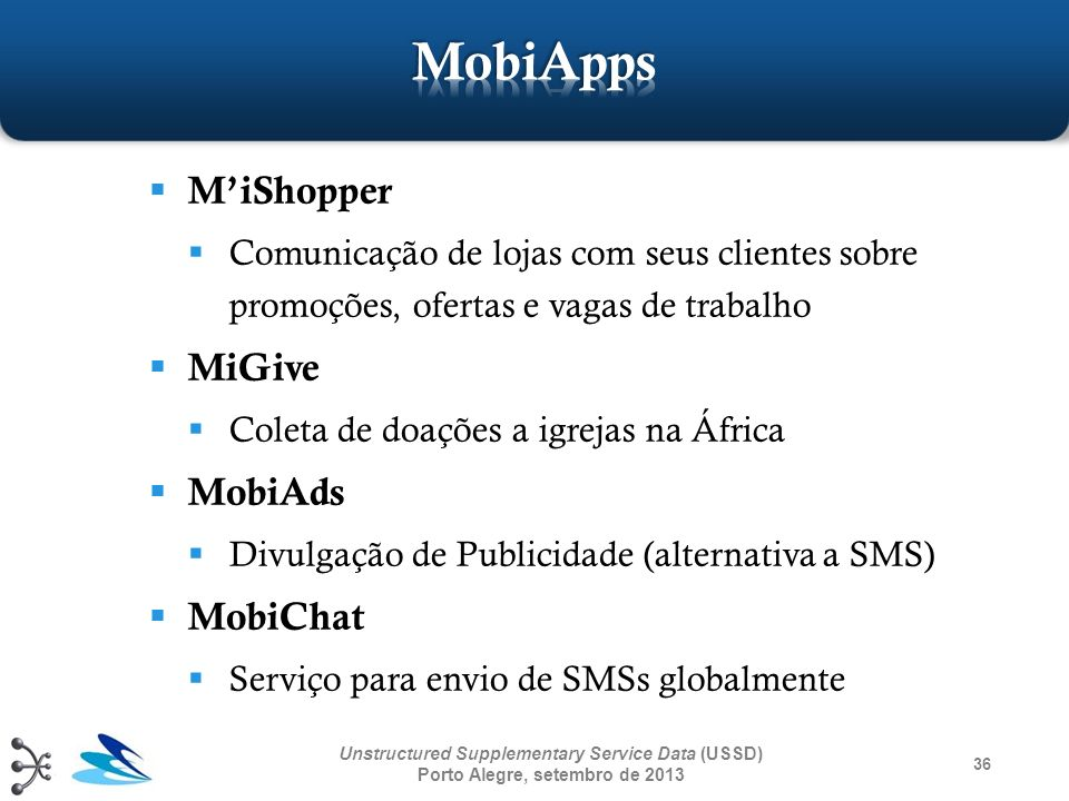MobiApps M'iShopper MiGive MobiAds MobiChat